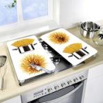 Kit 2 tábuas vitrocerâmica p/ cozinha - Spaghetti
