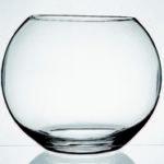 Vaso de vidro 16 cm - Flora