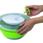 Secadora de salada manual dobrável - Corda