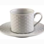 Conjunto xícara e pires para chá