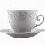 Conjunto xícara e pires para chá, 200 ml - Caprice