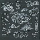 Guardanapo Pizza Recipe, 33x33 cm - Paper Design