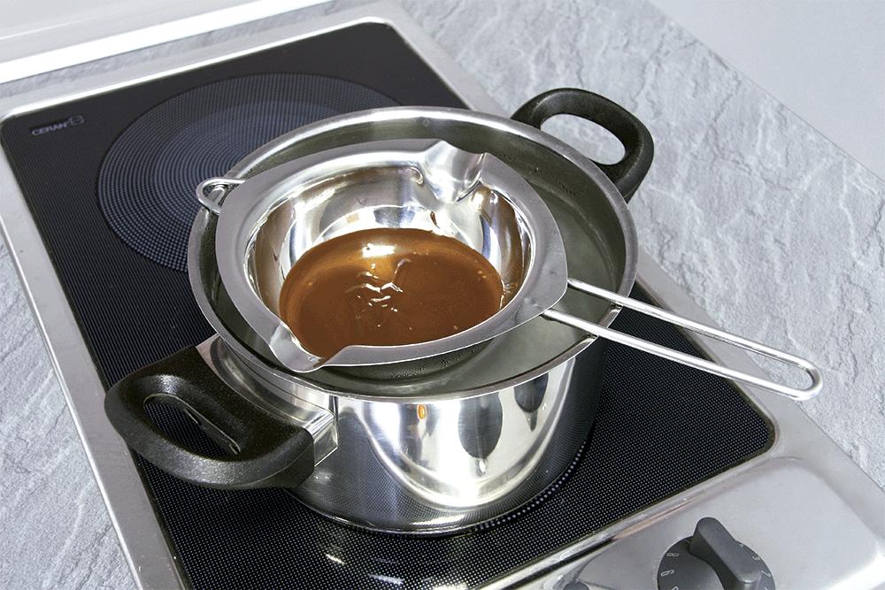 Mini panela p/ derreter chocolate