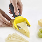 Plaina para queijo Joseph & Joseph em plástico/aço inox - 16,5cm - Multi-Slice - Amarela
