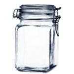 Pote de vidro c/ tampa e trava 1,5 L - Gasket