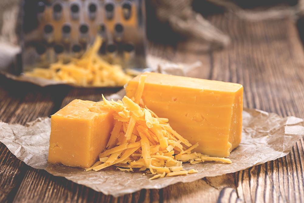 cheddar queijo media maturacao
