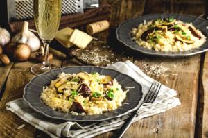 risoto de cogumelos receita