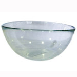 Conj. 6 tigelas de vidro p/ sobremesa