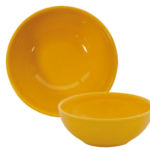 Tigela-redonda-amarela, - 15-cm---Harlek