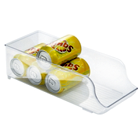 Cesta plástica p/ armazenar latinhas na geladeira