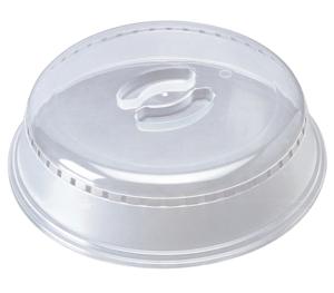 Tampa plástica para micro-ondas - 26 cm