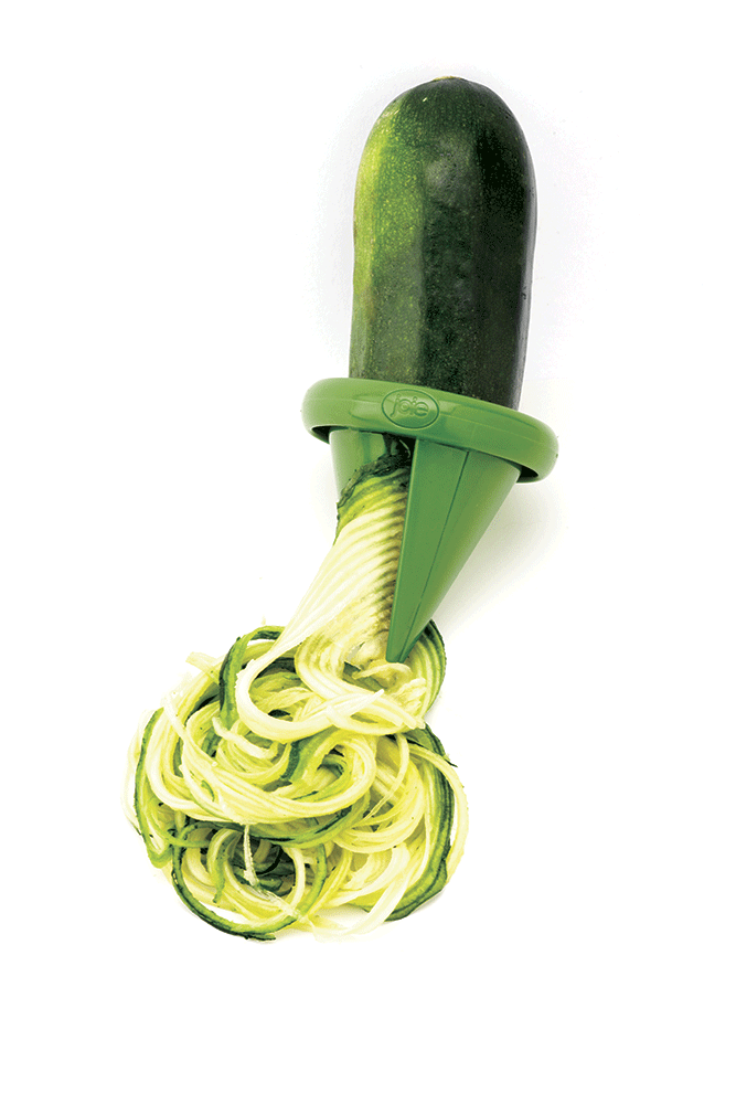 Peeler em espiral para vegetais
