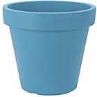 Vaso de Plástico para Flores - Colorido - 25x22 cm