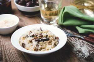 risoto de cogumelos receita2