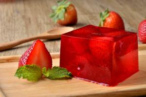 Sabor e saúde com gelatina de frutas