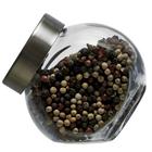 Conjunto 3 potes para temperos com tampa - 200 ml
