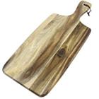 Tábua em madeira acácia para alimentos - 48x19,5