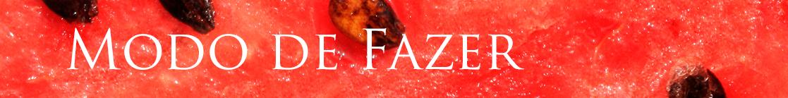 melancia receita