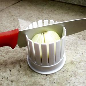 Suporte para cortar cebola