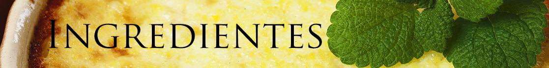 INGREDIENTES polenta
