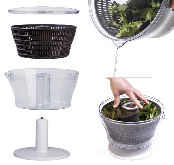 Secadora de salada de pressão - Linha profissional