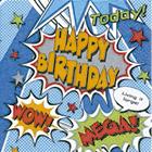 Guardanapo Happy Birthday, 33x33 cm - Paper Design
