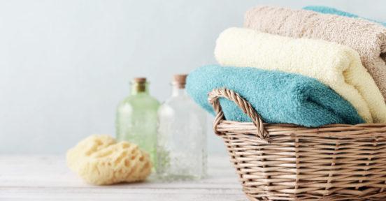 como guardar toalhas