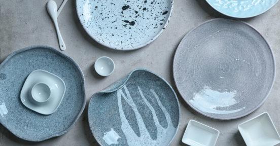 louças de porcelana